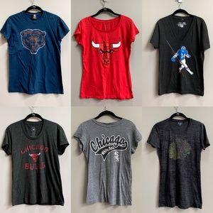 Tops - Chicago Sports Team Tee Shirt Bundle